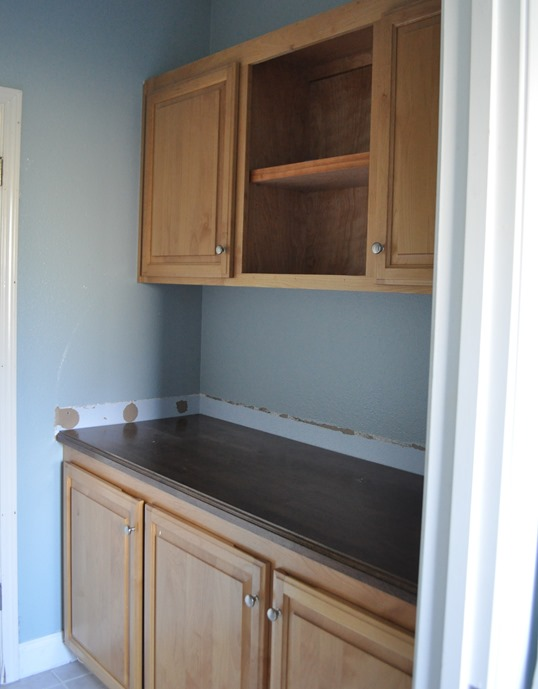 cabinets before after white painted bathroom cabinets - Painted Bathroom Cabinets Before And After