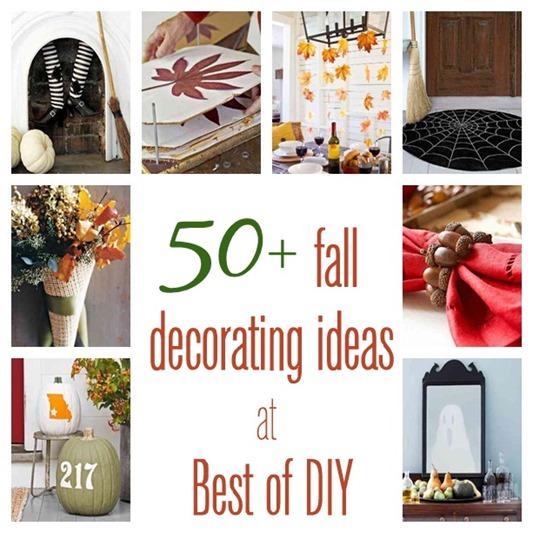 50  fall decorating ideas