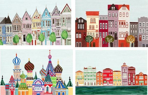 city illustrations annasee