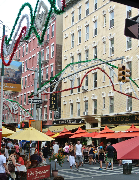 Little Italy Cafes Nyc