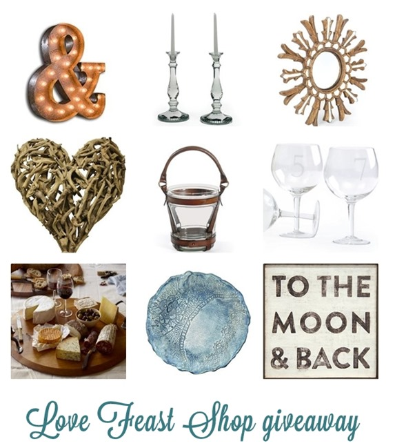 love feast shop giveaway