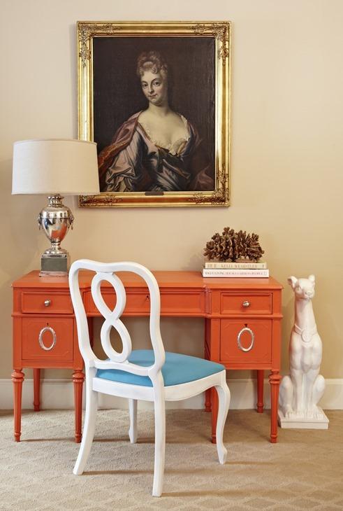 orange desk marmalade interiors
