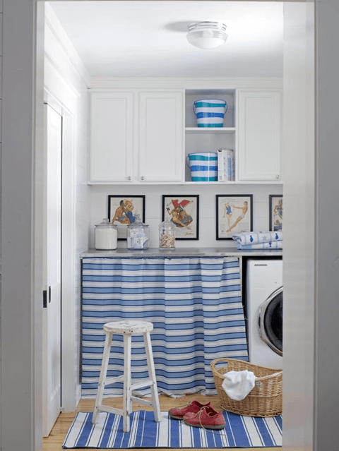 storage in laundry room