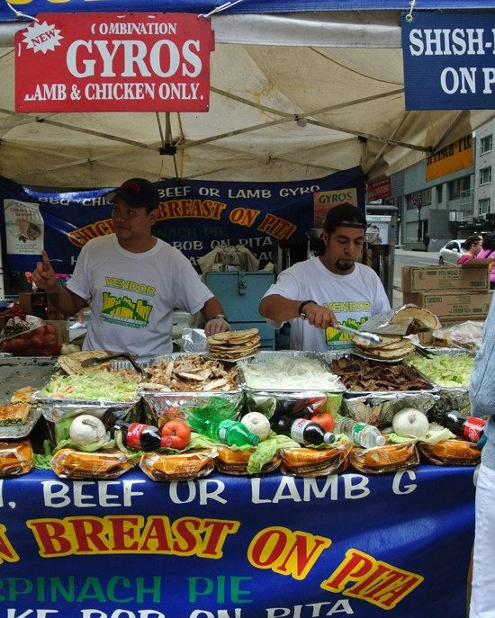 street fair gyros
