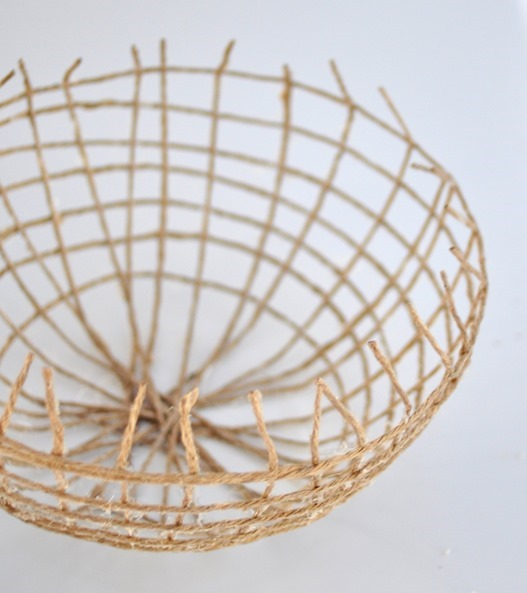 twine bowl shape