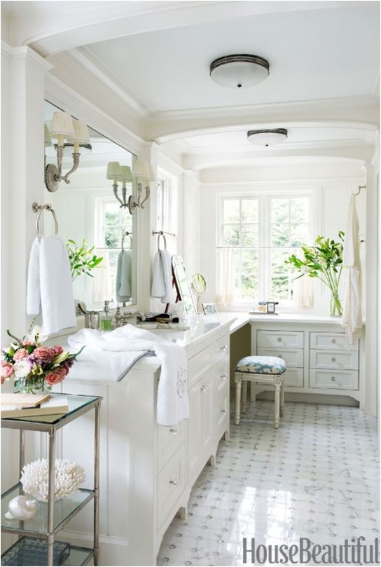 white bathroom house beautiful