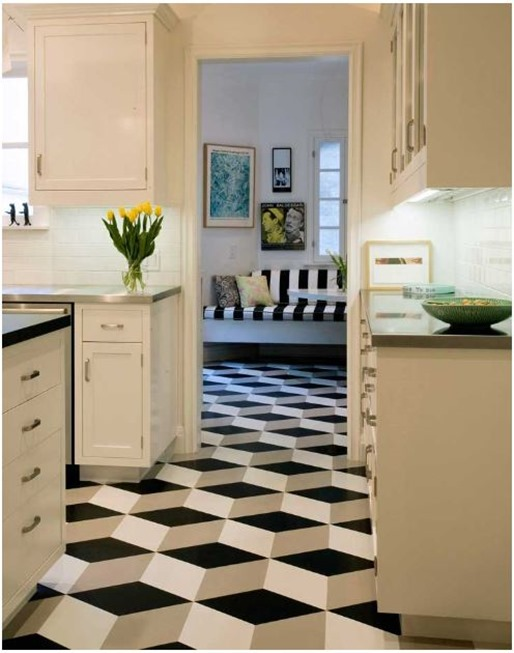 Cool crogan linoleum floor