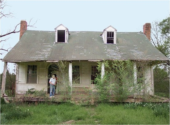 country living house before