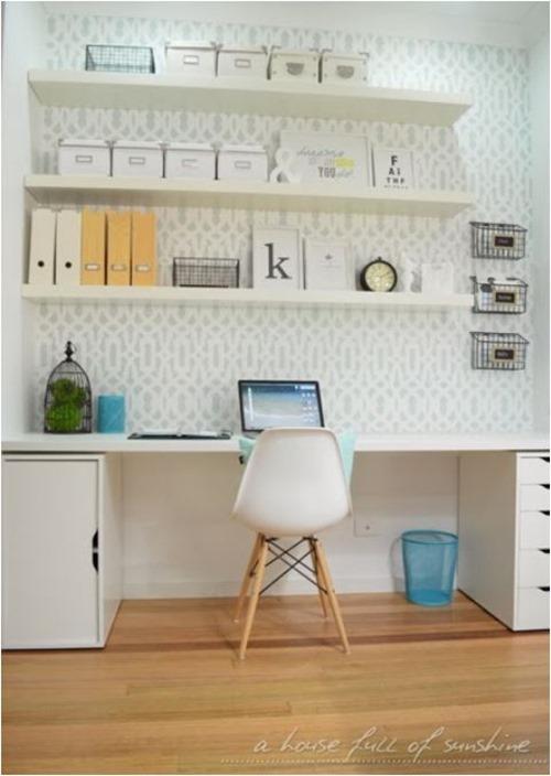 mini home office housefullofsunshine