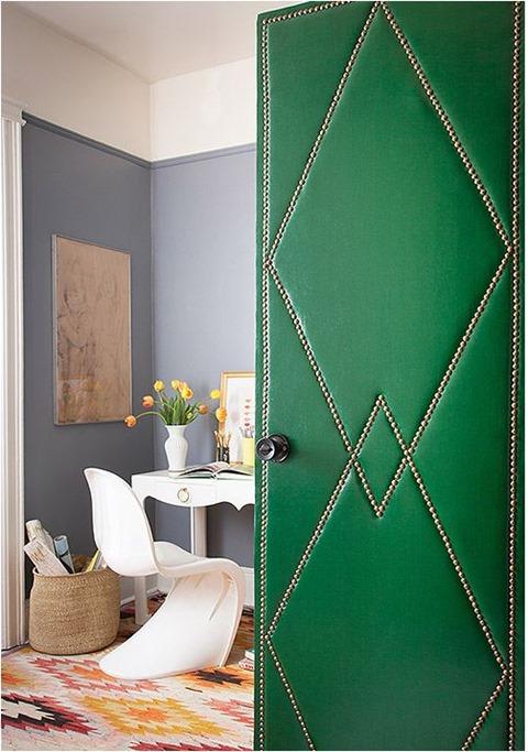 upholstered door nailhead trim