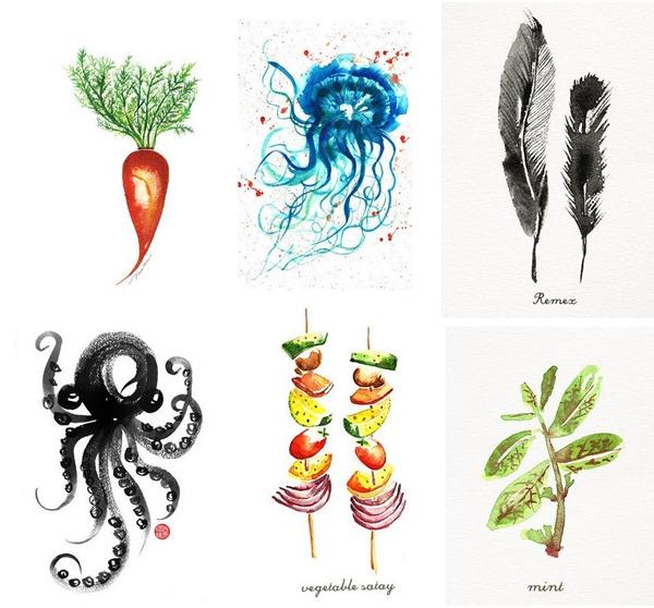 color zen watercolors