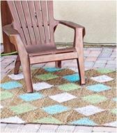 diamond painted rug