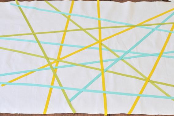 criss cross ribbons