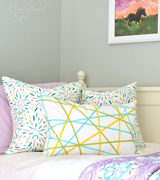 Awesome diy ribbons pillow girls room