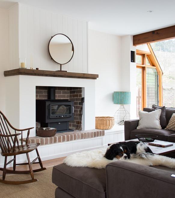 Raised Hearth Fireplace Designs: Contemporary Fireplace Ideas