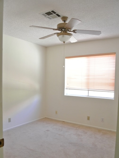 guest room before demo