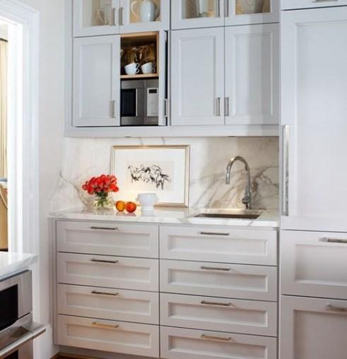 Disappearing Microwaves | Centsational Style on kitchen hidden sink, kitchen hidden storage, kitchen hidden pantry,