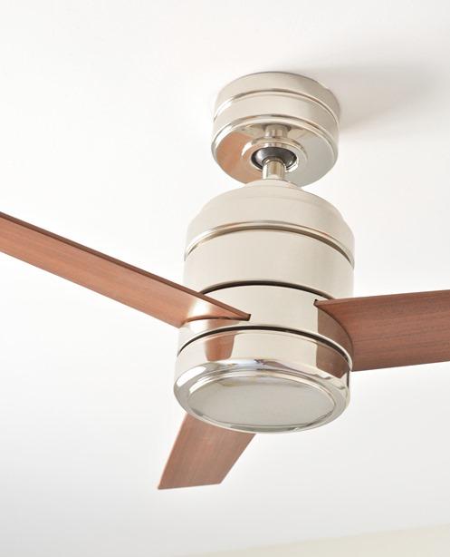 kichler fan installed
