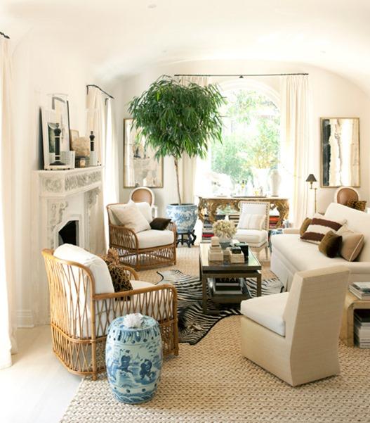 rattan chairs house beautiful