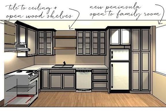 New gma new kitchen plan