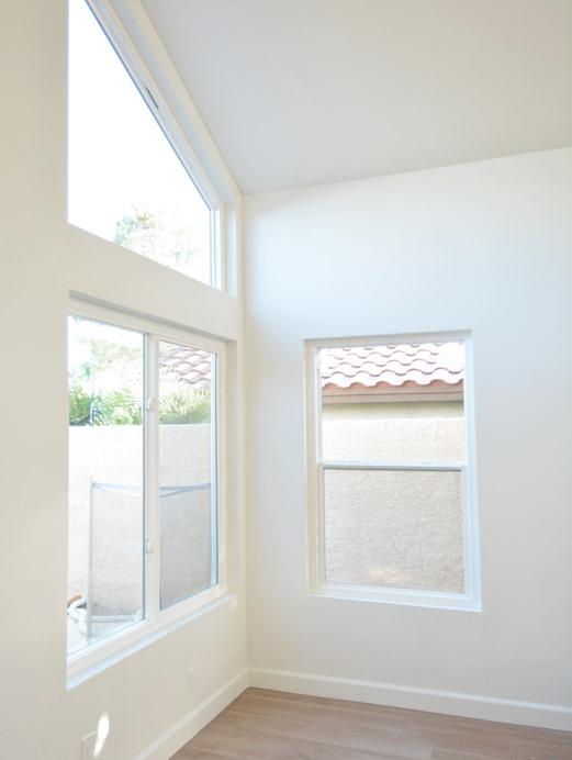 new white living room windows