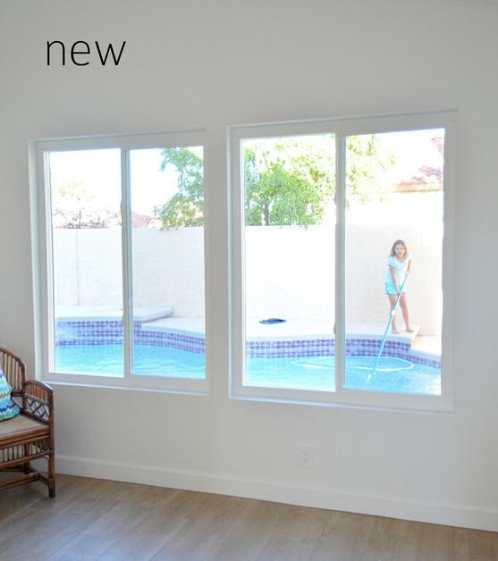 new windows in sunroom