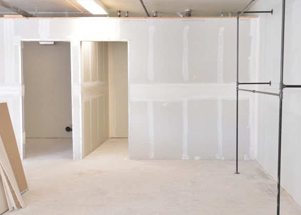 new dressing rooms
