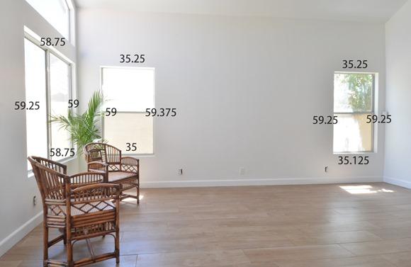 window measurements for shutters