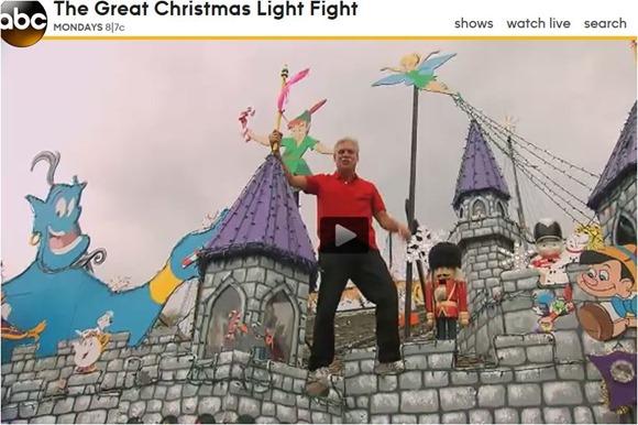 christmas light fight winner