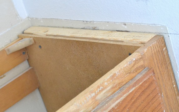 2x4 in wall