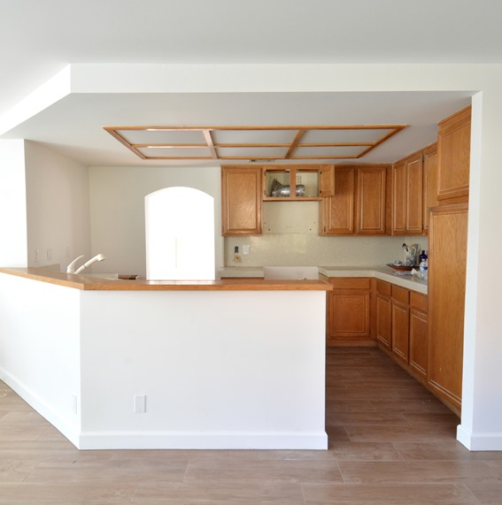 Remodel Woes: Kitchen Ceiling And Cabinet Soffits