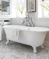 marble in bathroom