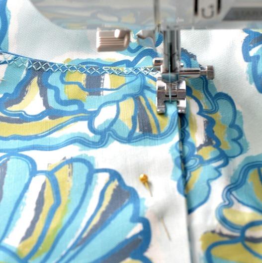 decorative stitch for pocket