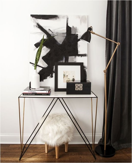 diy large scale abstract art