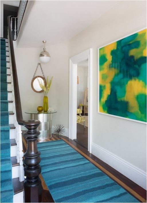 rachel reider blue entry abstract art