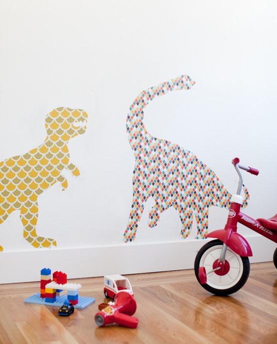 wallpaper dinosaur stickers