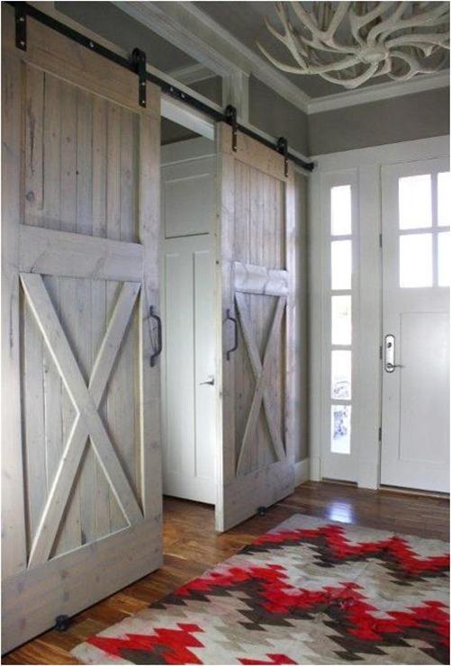 foyer barn door