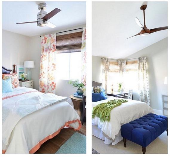 Modern Ceiling Fan In Bedroom