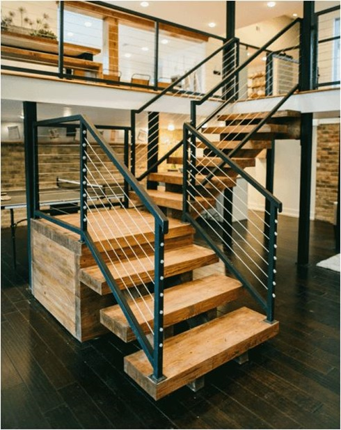 staircase magnolia homes