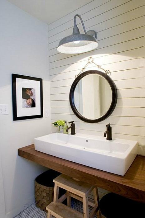 Charmant Wood Bathroom Countertop Vessel Sink