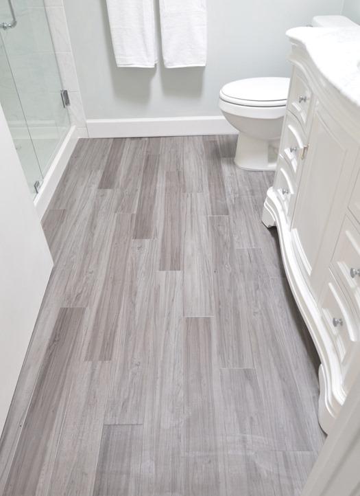 Cute vinyl plank bathroom floor