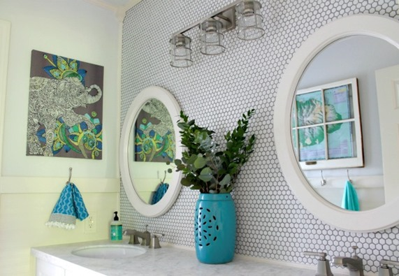 bathroom makeover our fifth house