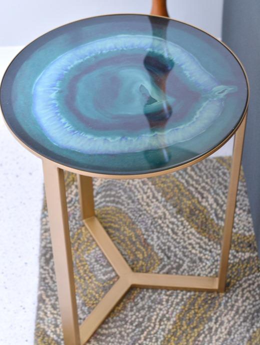 emerald table