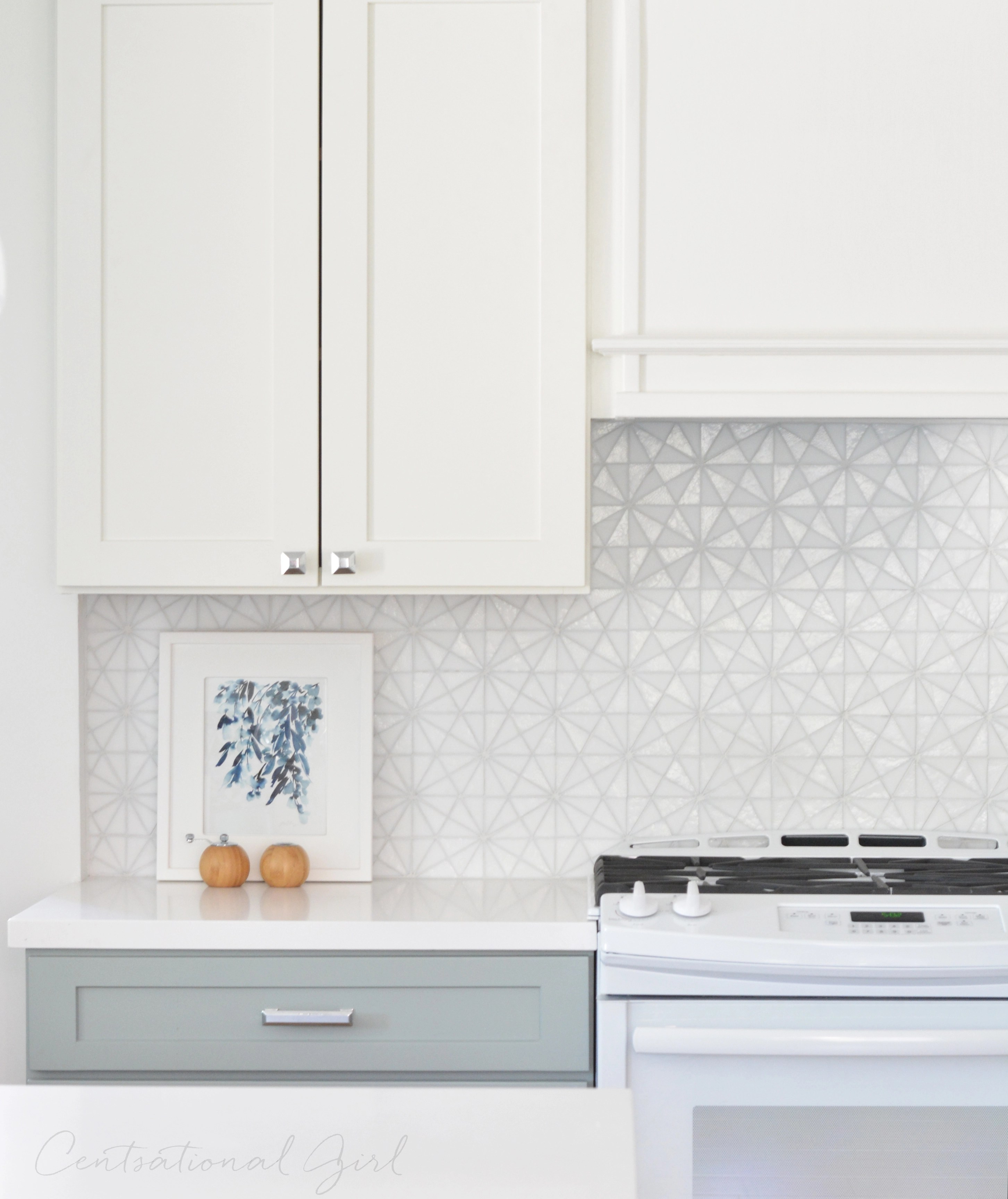 Modern Kitchen Backsplash 2015: Centsational Style