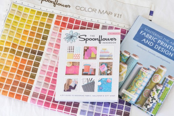 color chart fabric design books