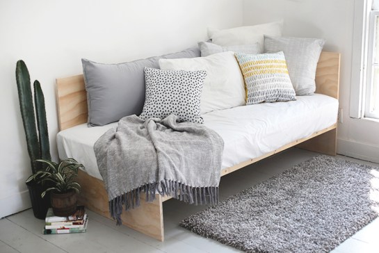 plywood daybed diy