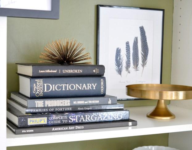 books decorative objects