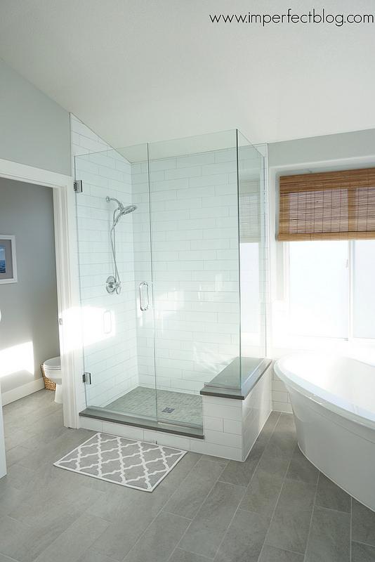 Fresh bathroom remodel imperfect blog