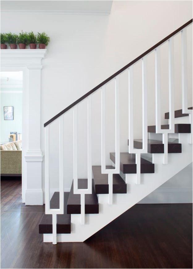 Stunning Stair Railings Centsational Style | Black Horizontal Stair Railing | Room | Split Entry | Steel | Modern | Metal