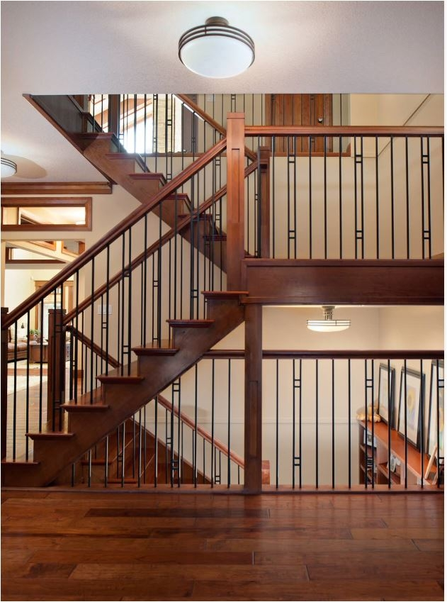 Stunning Stair Railings Centsational Style   Indoor Railings For Steps